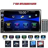 Regetek 7' Double DIN Touchscreen in Dash...