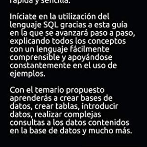 Aprende a usar MySQL sin morir en el intento (Spanish Edition) 51Hi0Vy7zaL