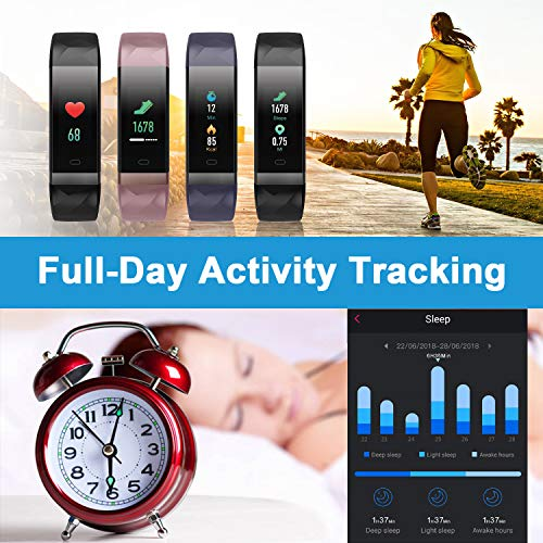 Letscom Fitness Tracker 2019
