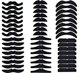 Fiesta Fake Mustaches - Cinco de Mayo/Mexican Party Favors/Supplies/Decorations Self Adhesive Beards Accessory