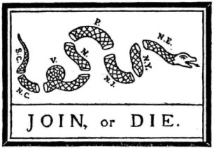 Amazon.com : Flag: U.S. Join or Die Snake- Colonies of the Revolutionary  War : Collectibles : Garden & Outdoor