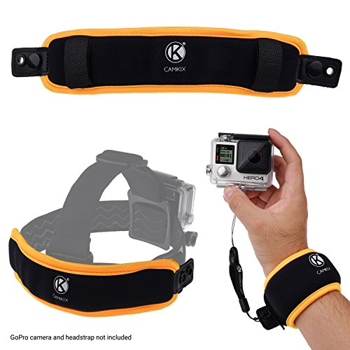 2in1 Floating Wrist Strap & Headstrap Floater – MV