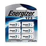 New Energizer 123 Lithium Photo Battery 6 Pack 3 Volts 10 Year Shelf Life For Digital Electronics