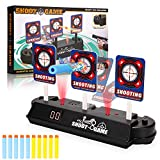 Anguslvy Electric Scoring Auto Reset Shooting Digital Target for Nerf Guns Blaster