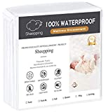 SHEEPPING Premium Bed Bug Mattress Encasement King Size - Waterproof Zippered Encasement Mattress Protector - Breathable Noiseless and Hypoallergenic (Fits 9-12'. H) - 76'x 80'