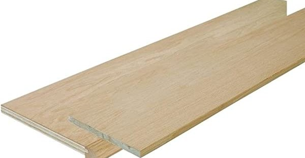 Simple Tread Sp125 4F048C 48 Inch Oak False Stair Tread Cap And   Oak Stair Tread Caps   Pergo Outlast   Scraped Oak   Riser Kit   Wood   Sp125 4F048C