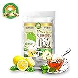Lemon Herbal Slimming Tea And Detox Tea For Weight Loss With Natural Lemon Flavor 60 Bags