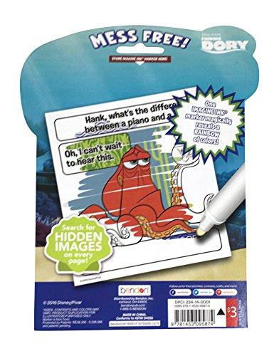 Disney Finding Dory Nemo Mess Free Coloring and Activity Book Set ...