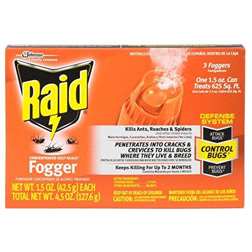 Raid Deep Reach Concentrated Fogger 3 Each