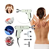 Aurorax Electric Chiropractic Adjusting Tool Therapy Spine Activator Massager White (White)