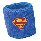 "Amscan Amazing Justice League Birthday Party Sweat Band Favors, Blue, 3"" x 2 1/2"""