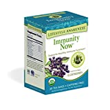 Lifestyle Awareness Teas, Caffeine Free Immunity Now Tea, 20 Count (Pack of 6)