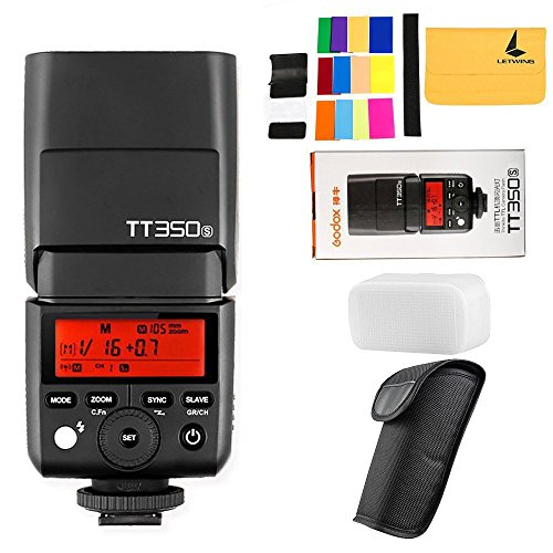 GODOX TT350S 2.4G HSS 1 / 8000s TTL GN36 Camera Speedlite for Sony Mirrorless digital camera