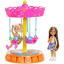 Barbie Club Chelsea Carousel Swing Mattel (2 Dolls Included)