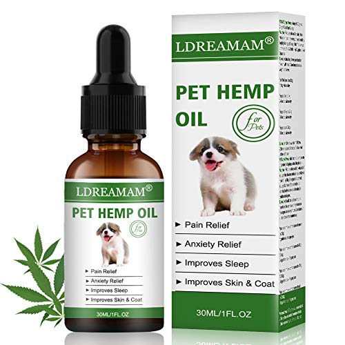 LDREAMAM-Hemp-Oil-for-Dogs-Cats-Pets-Hemp-Oil-for-Pain-ReliefSeparation-Anxiety-Relief-Hips-Pain-Pet-Recovery-Sleep-and-Treats-Skin