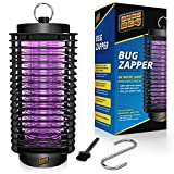 Bug Zapper Indoor and Outdoor - Insects Killer - Fly Trap Outdoor Patio - Insect Killer Zapper - Mosquito Trap - Insect Zapper - Mosquito Attractant Trap - Fly Zapper-Bug Zapper Table Top