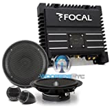 pkg Focal Solid-2 2-Channel Amplifier + IS165 6.5' Component Speakers System