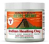 Aztec Secret - Indian Healing Clay - 1 lb.   Deep Pore Cleansing Facial & Body Mask   The Original 100% Natural Calcium Bentonite Clay - New! Version 2