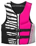 AIRHEAD WICKED Kwik-Dry Neolite Flex Vest, Hot Pink