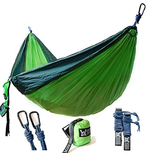 Winner Outfitters Double Camping Hammock -...