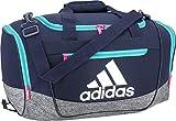 adidas Defender III Small Duffle Bag - Col Navy/Hi Res Aqua