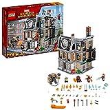 LEGO Juego de Construcción Marvel Super Heroes Avengers Infinity War, Spider Man y Doctor Strange Duelo en el Sancta Sanctorum (76108)