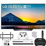 LG OLED55B8PUA 55 Class B8 OLED 4K Ultra HD AI Smart TV Xbox One S and Wall Bracket Bundle
