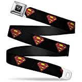 Buckle-Down Seatbelt Belt Superman XL
