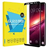 Samsung Galaxy S9 Plus Screen Protector - MoKo [3D Curved Edge][Scratch Terminator] Ultra Clear 9H Hardness Tempered Glass Screen Protector Bubble-Free Film for Galaxy S9+ 6.2