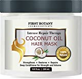 Coconut Oil Hair Mask, 8.8 fl. oz. Restorative Hair Mask,...