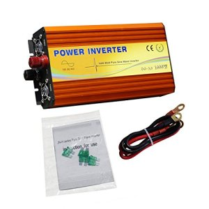 ECO-WORTHY 12V 24V Pure Sine Inverter 110V DC Off Grid Inverter W/MPPT Function