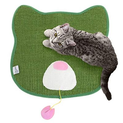 Kitty City Premium Woven Sisal Carpet Scratching Collection,...