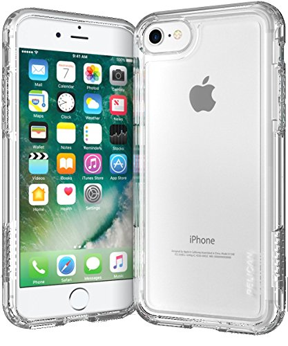 Pelican Adventurer Case Compatible with iPhone 8/7 Clear / Clear
