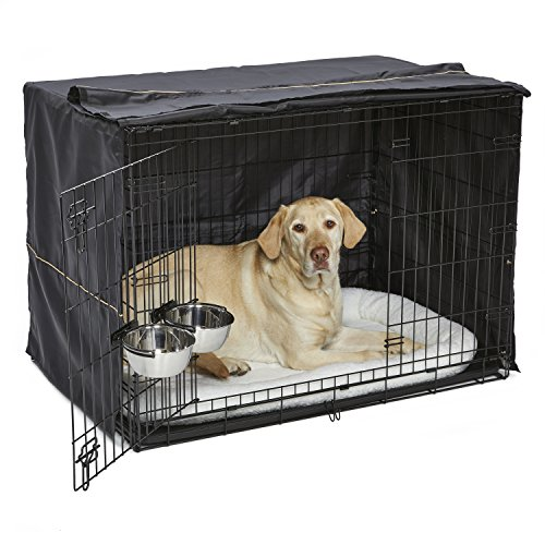 iCrate Dog Crate Starter Kit | 42-Inch Dog Crate Kit Ideal for LARGE DOG BREEDS...