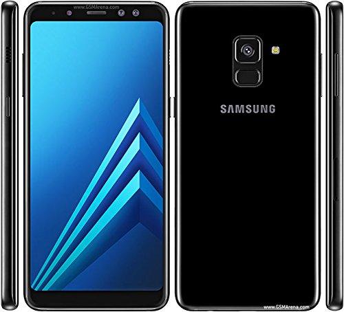 Samsung Galaxy A8 (2018) Factory Unlocked SM-A530F/DS DUAL SIM 64GB/4GB Ram, 5.6″ Screen, 16MP Rear Camera + Dual Frontal Camera 16MP+8MP, IP68, 4G LTE International Version No Warranty