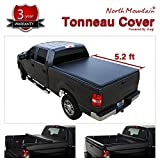 JJ For 15-19 Chevy Colorado/GMC Canyon Pickup 5.2ft Bed Black Vinyl Clamp On Soft Lock & Roll-up Tonneau Cover