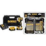 DEWALT DCF887M2 20V MAX XR Li-Ion 4.0 Ah Brushless 0.25' 3-Speed Impact Driver Kit