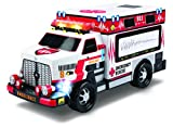 Kid Galaxy Motorized Ambulance Truck, Red