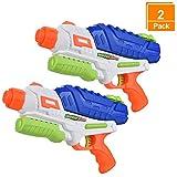 Browill [2 Packs] Premuim Water Guns Blaster, Big High Capacity(36oz) Long Range(35ft.) Super Soaker Squirt Guns Pistol Toys for Kids Adults for Swimming Pool Beach Outdoor Famliy Games