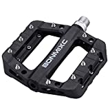 "BONMIXC Bike Pedals 9/16"" MTB Dh Cycling Platform Pedals Sealed Bearing Mountain Bike Pedals"