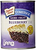 Comstock More Fruit Pie Filling & Topping, Blueberry, 21 oz