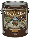 Ready Seal 112 Natural Cedar Exterior Wood Stain and Sealer, 1 Gallon (Pack of 4)