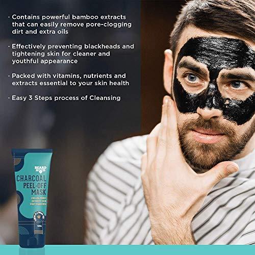 51J7awd1p3L Beardhood Charcoal Peel Off Mask, 100g
