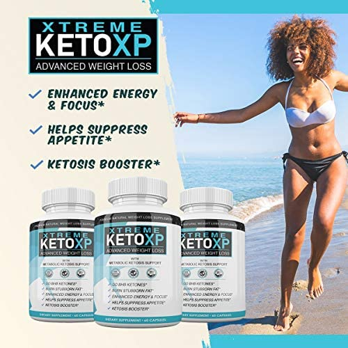 Keto XP Pills - 60 Count - BHB Ketones for Advanced Weight Loss - 1 Month Supply 5