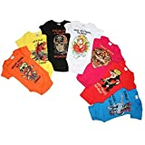 Ed Hardy Baby Girls 7 Days of the Week Onesie One Piece 7 Pc Set *Free Priority* (0/3 MONTHS)