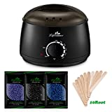 Lifestance Wax Warmer Hair Removal Kit with Hard Wax Beans and Wax Applicator Sticks