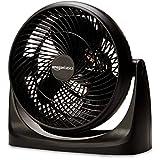 AmazonBasics Air-Circulator 3 Speed Small Room Floor Fan