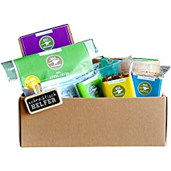 "Paleo gift basket ""Office Buddy"" by eat Performance (organic, superfood, healthy snacks without sugar und grains, gluten-free, lactose-free, hamper)"