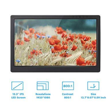 SunFounder-Raspberry-Pi-Display-133-Inch-IPS-Portable-2-HDMI-Monitor-1920x1080-Gaming-Monitor-for-Ps4-Raspberry-Pi-WiiU-Xbox-360-Windows-7810