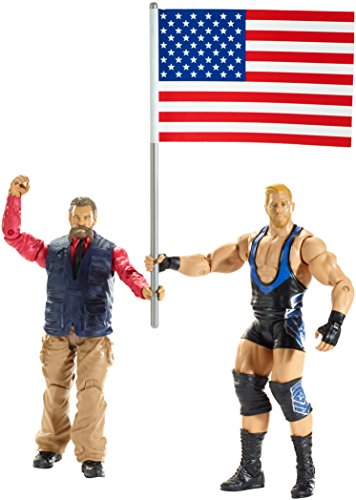 WWE Battle Pack Series #35: Jack Swagger vs. Zeb Colter Action Figure (2-Pack)